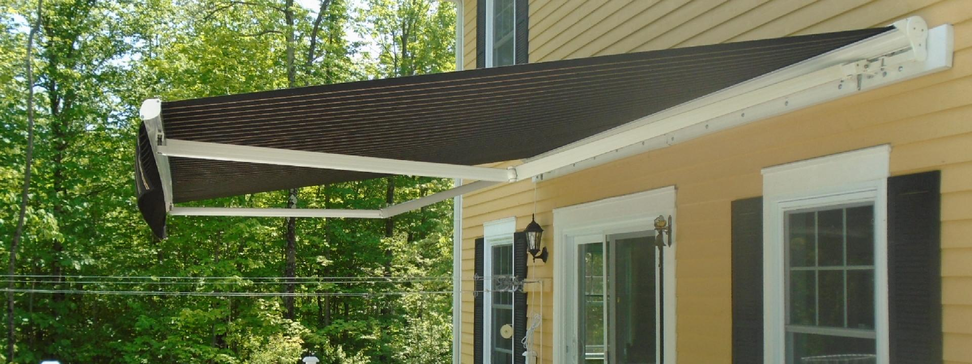 Retractable Canvas Awnings - Longueuil, Montreal, Rive-Sud   Canevas